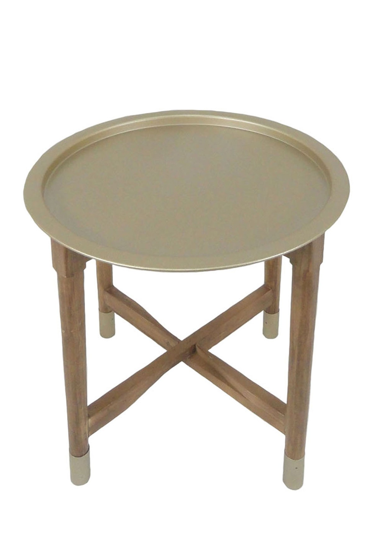 sagebrook home gold metal tray top accent table nordstrom rack counter high dining vintage wood side skinny wine outdoor sectional cover coffee rustic chic end tables funky