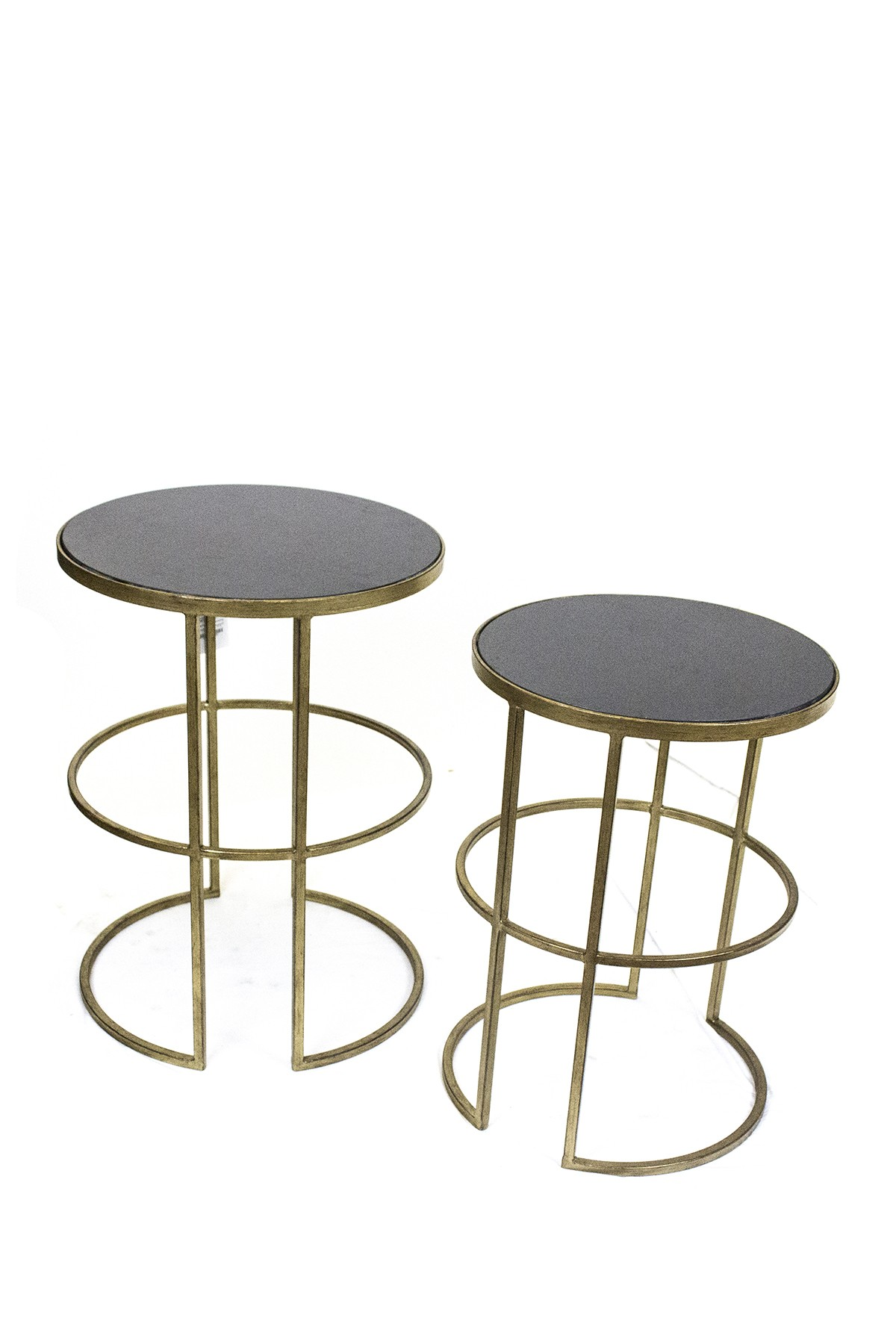 sagebrook home gold white accent tables set nordstrom rack table office kitchen with leaf furniture feet short coffee round quilted toppers metal drum wicker pier one best
