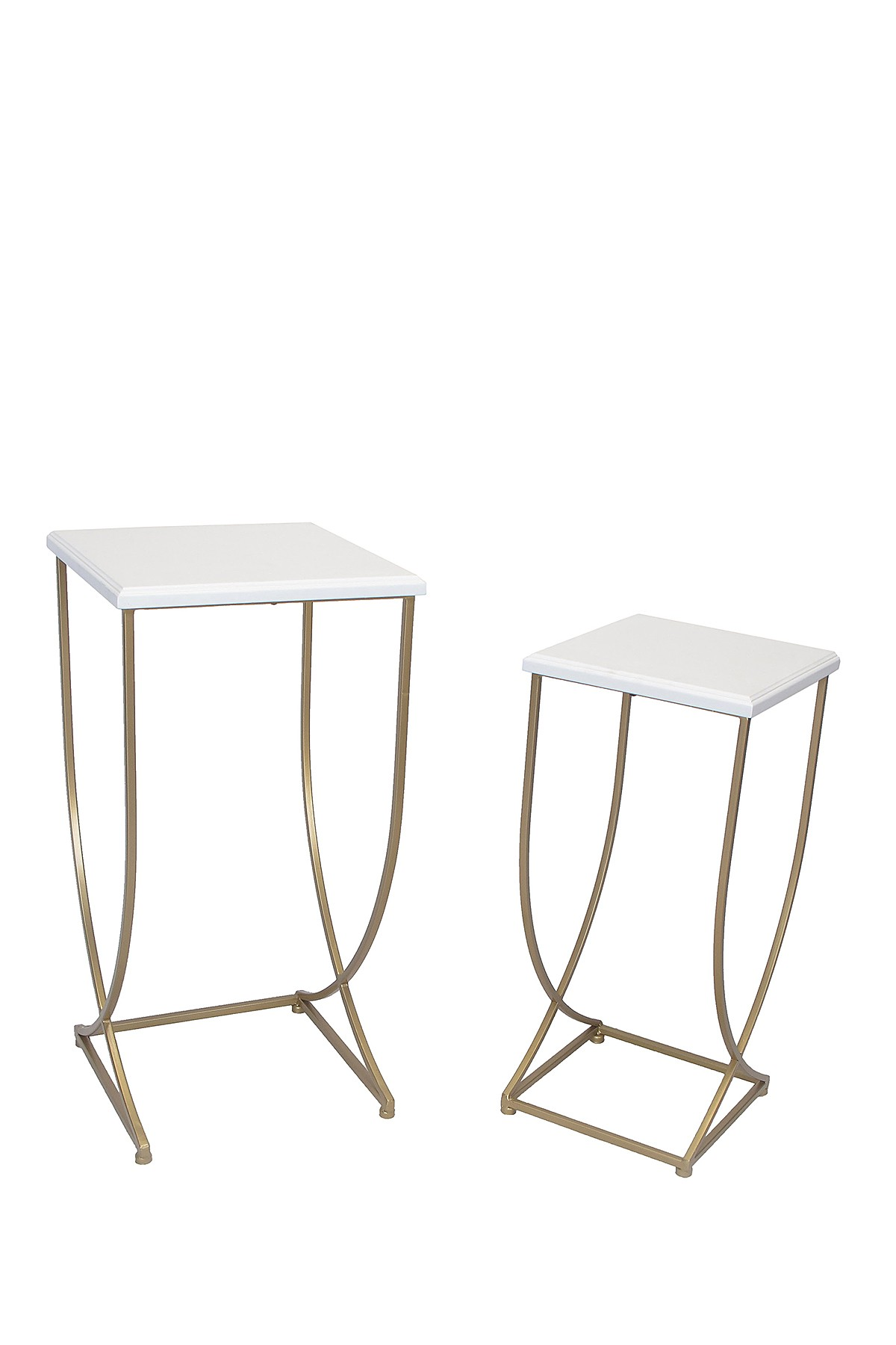sagebrook home white metal accent tables set nordstrom rack table umbrella and stand retro inspired furniture pier one side navy end electric drum little kid chairs ikea kids