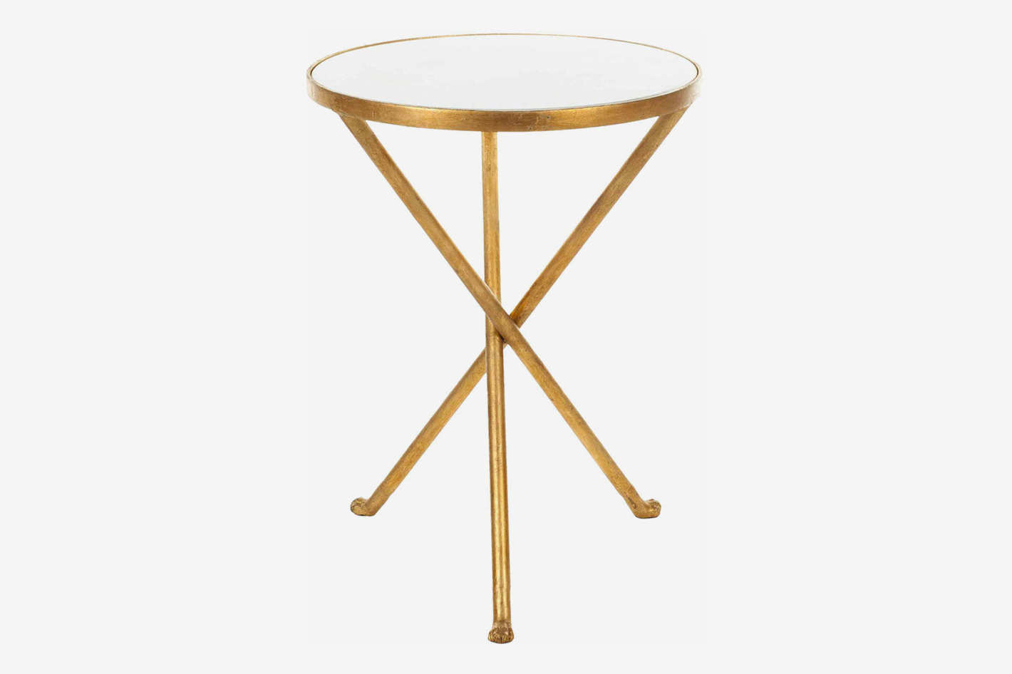 saint laurent coach north dvf metal eyelet accent table safavieh marcie nautical ceiling fans with lights black glass and chrome side cupcake carrier target hammary end oval patio