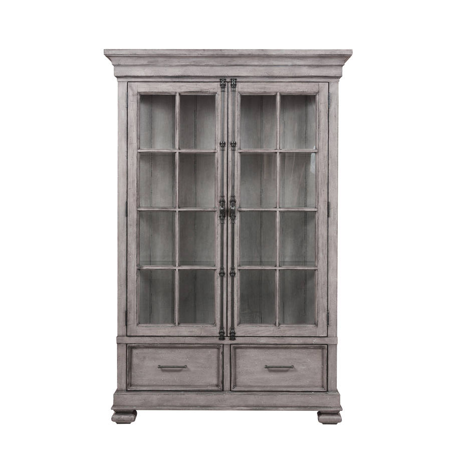 samuel lawrence prospect hill weathered grey cabinet the gray accent table classy home kids side ashley furniture bar height brown lamps contemporary glass nesting tables set