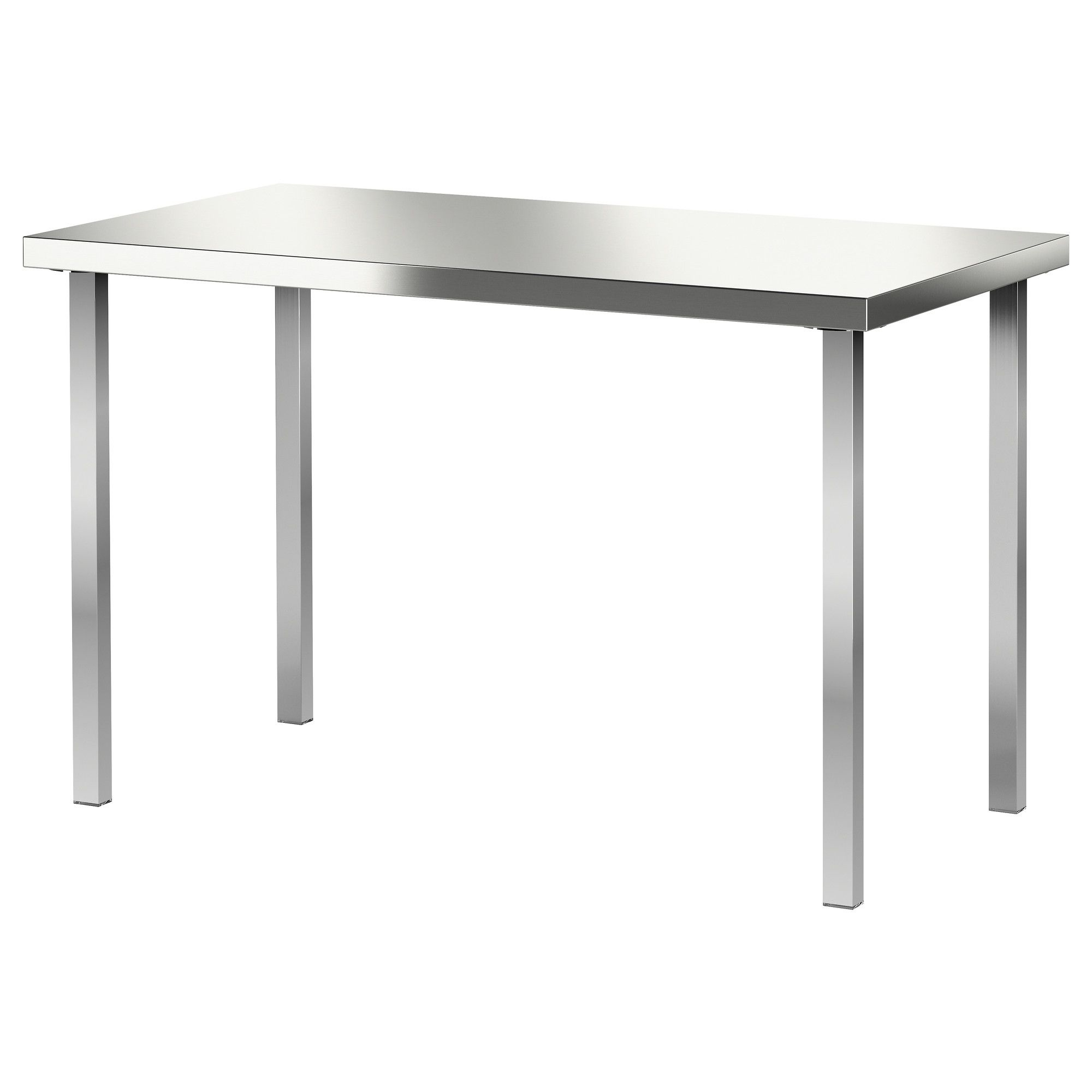 sanfrid godvin table ikea stainless steel strong durable easy eugene accent white winsome keep clean surface possible craft idea versailles furniture brown coffee outdoor covers