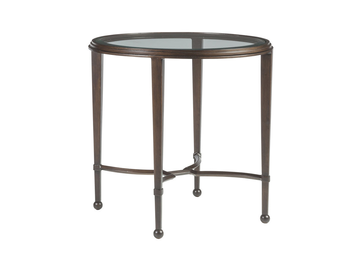 sangiovese round end table per with doors wedge shaped side mirrored accent low wood coffee office chair small nesting tables set three danish style dining console height compact