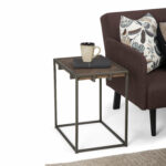 santa end table avery narrow glass top accent farm kitchen living room nest tables build wood coffee and wine rack girls desk target windham side base garden seats saddle drum 150x150