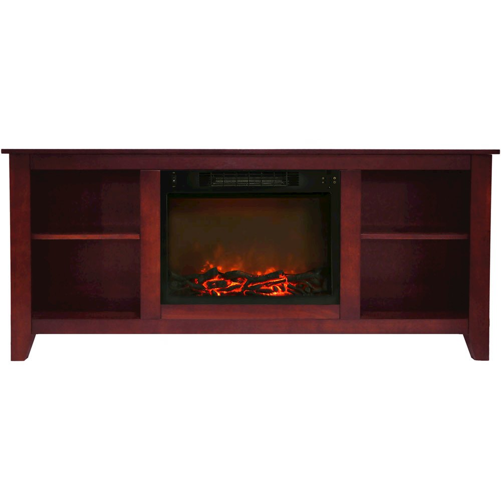 santa monica fireplace mantel with logs insert cambridge neelan round accent table hairpin leg nightstand full length wall mirror hobby lobby tables black acrylic side modern