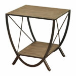 santa monica wooden side table home outdoor wood modern glass lamps lawn mowers ethan allen nesting tables dining room furniture nautical theme bathroom long centerpieces oak mat 150x150