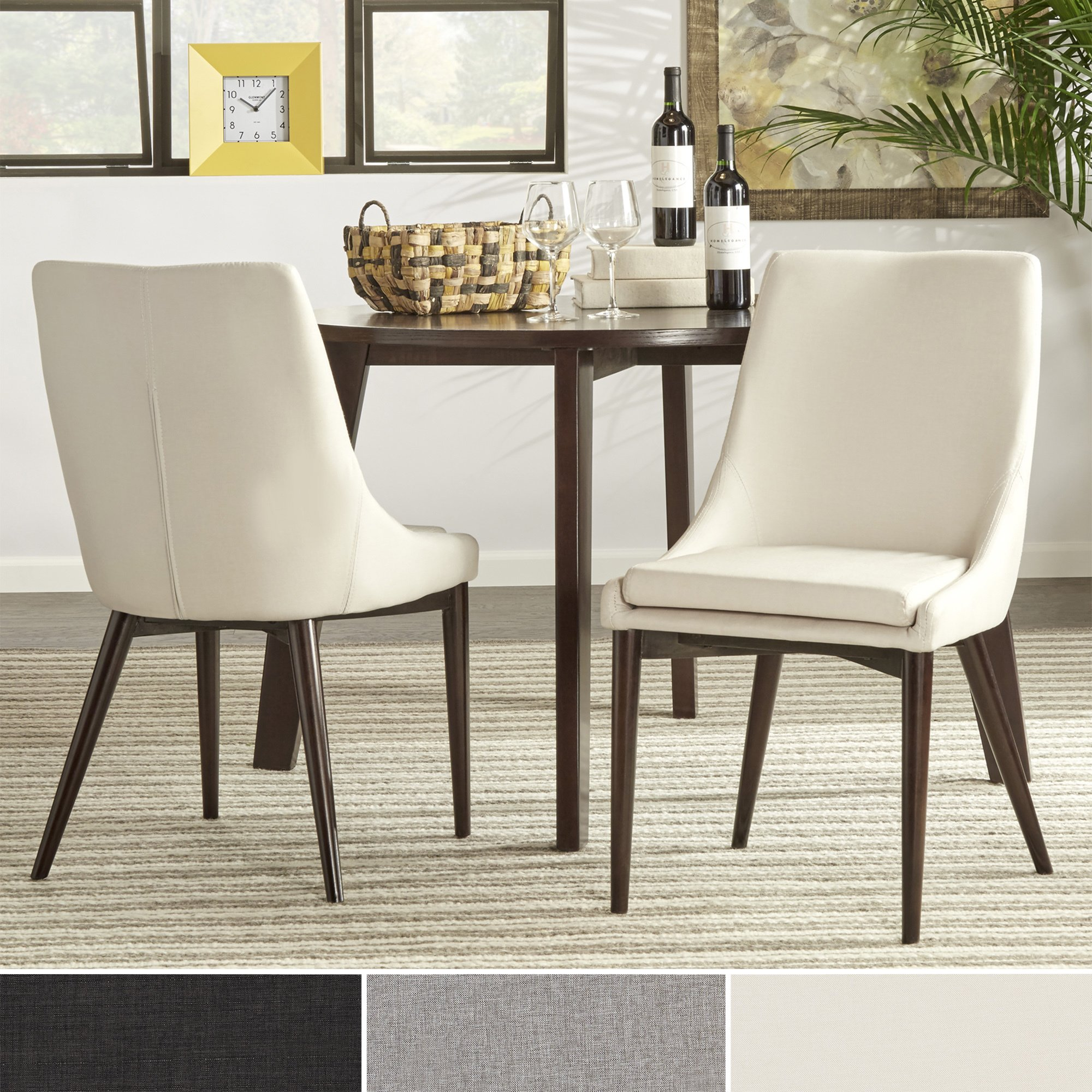sasha mid century barrel back dining chairs set inspire modern round accent table free shipping today end tables dog grooming bath target bar stools large outdoor cover mission