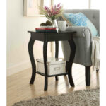 sauder salt oak end table probably terrific awesome black glass coffee cool lovable accent with tables furniture dining low pottery barn wicker white square oval curtain and set 150x150