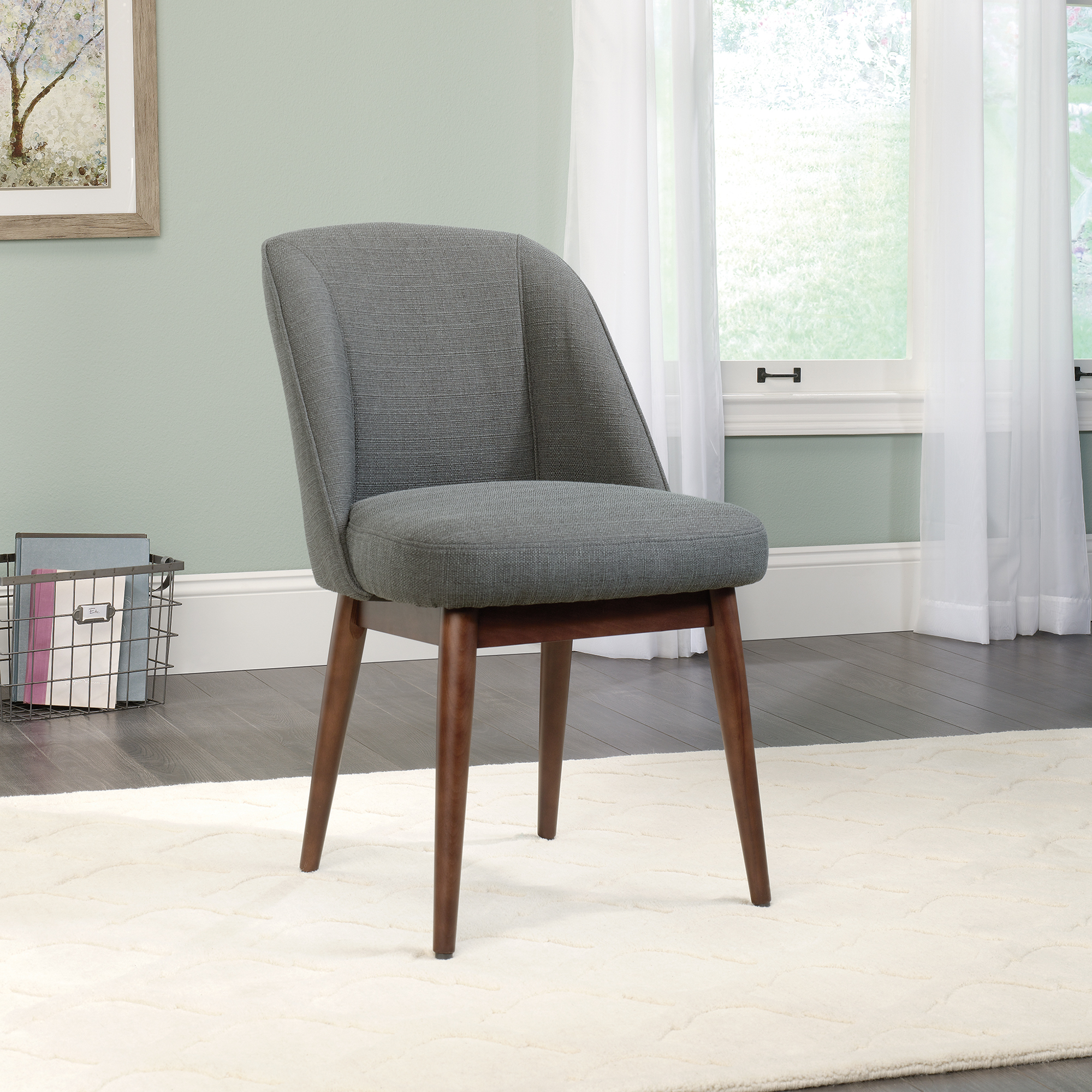 sauder select luna accent chair chairs with table oval dining cover decorative storage cabinets furniture pottery barn glass top coffee bungee target uma console bunnings bench