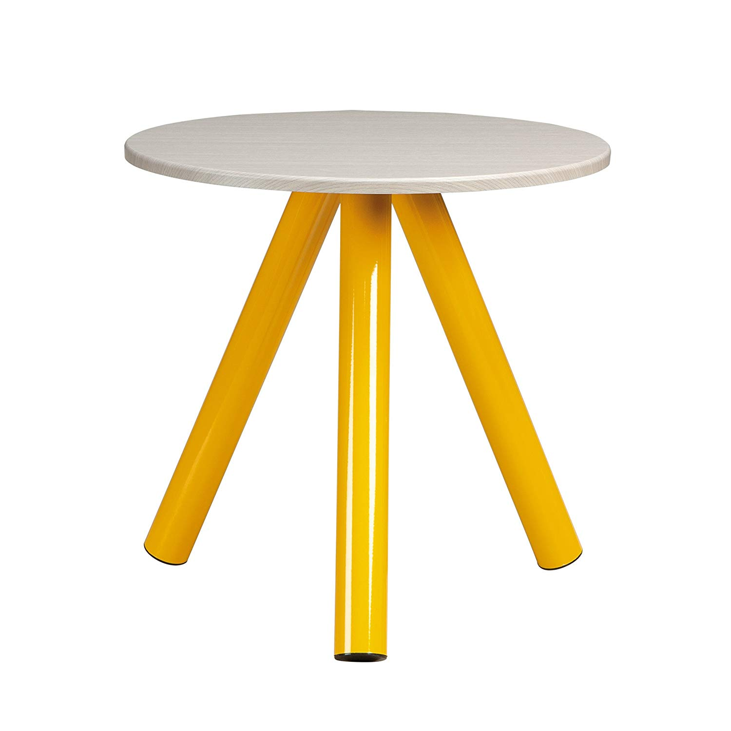 sauder soft modern side table yellow outdoor accent saffron finish kitchen dining metal patio tables pilgrim furniture target desks and chairs leather wood one drawer threshold