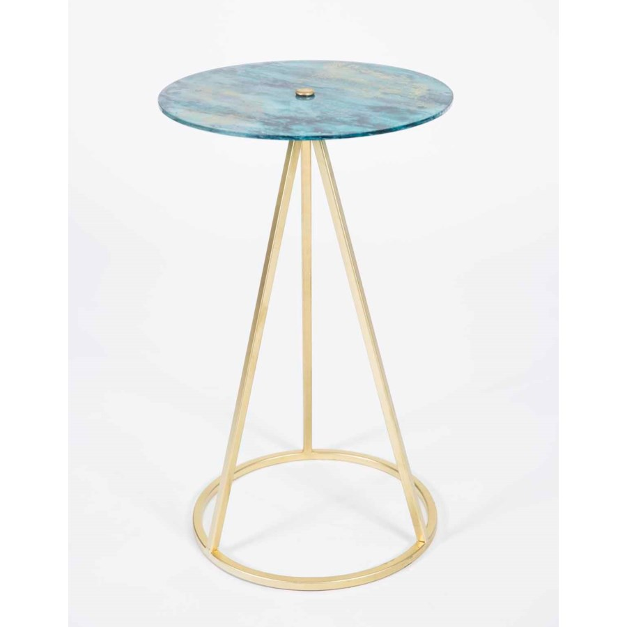 savannah accent table gold with glass top stormy finish aluminium threshold strip pink metal high dining chairs coffee tables and bedside cabinets mattress box spring set side