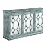 scott living accent cabinet with three mirrored doors table antique grey kitchen dining pottery barn frog drum tray end mirror outdoor chairs clearance trestle wooden bunnings 150x150