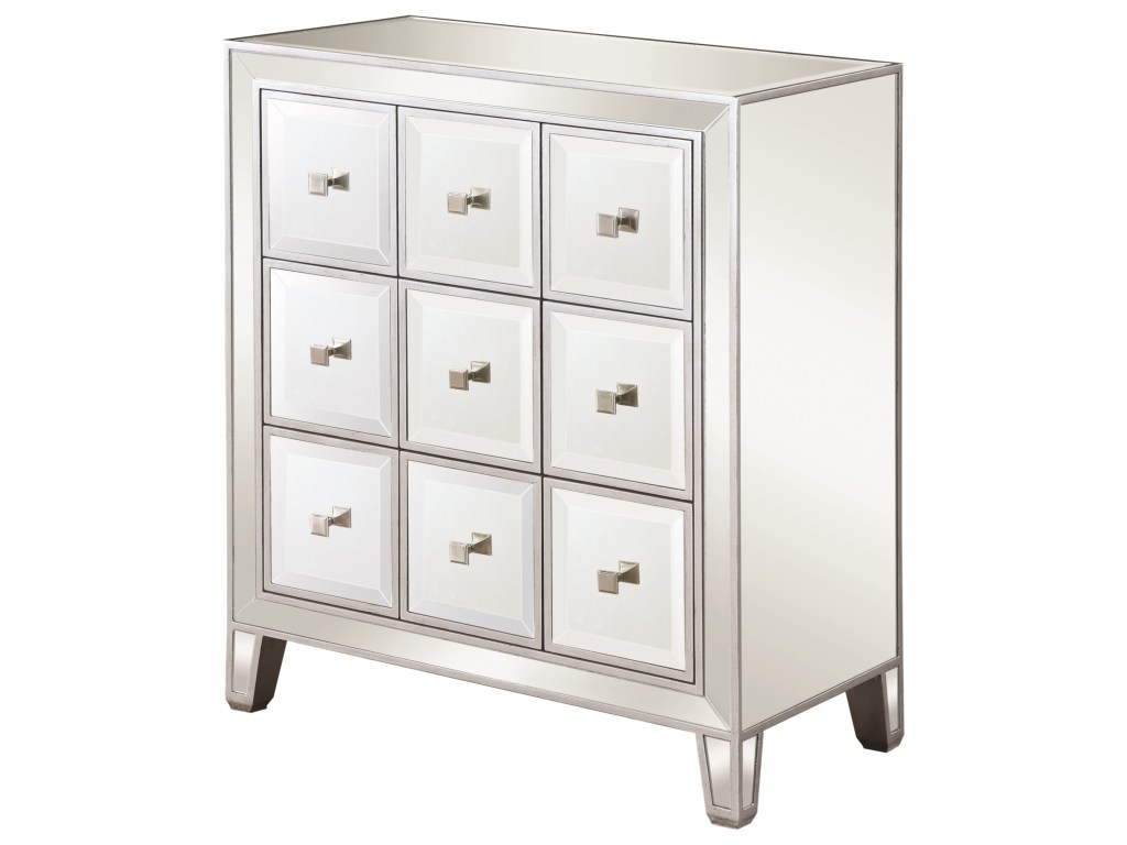 scott living glam mirrored accent cabinet belfort furniture products color threshold table pottery barn mahogany blue bedside antique half moon door coffee driftwood mini fridge