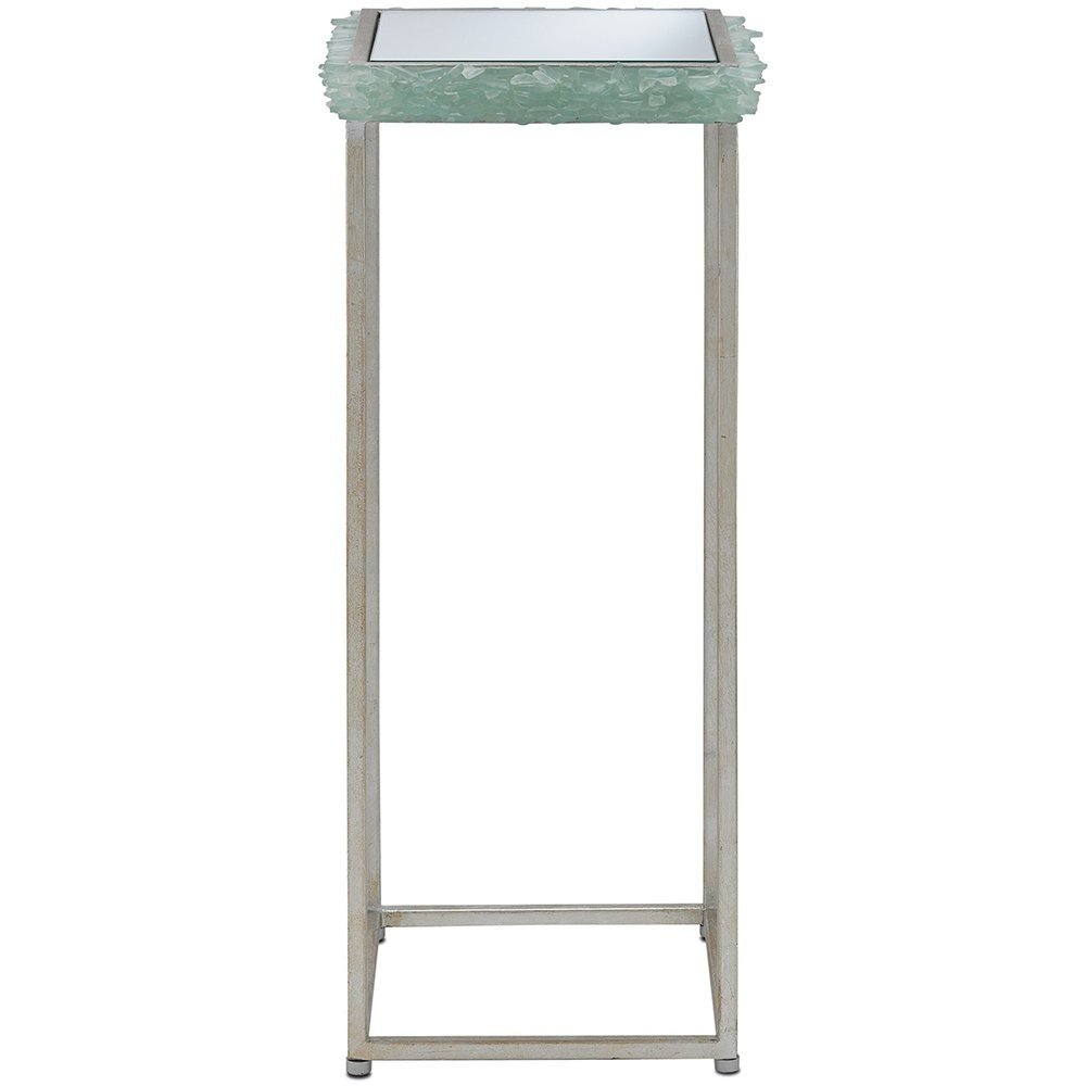 seaglass drink table coastal cottage belle escape cyathea drinks accent tables lane kidney coffee modular bedroom furniture nightstand with lamp attached glass top patio umbrella