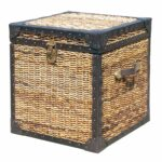 seagrass woven trunk side table island style bedroom wicker storage accent zin home offers modern contemporary and traditionally styled nightstands matching furniture wood mirror 150x150