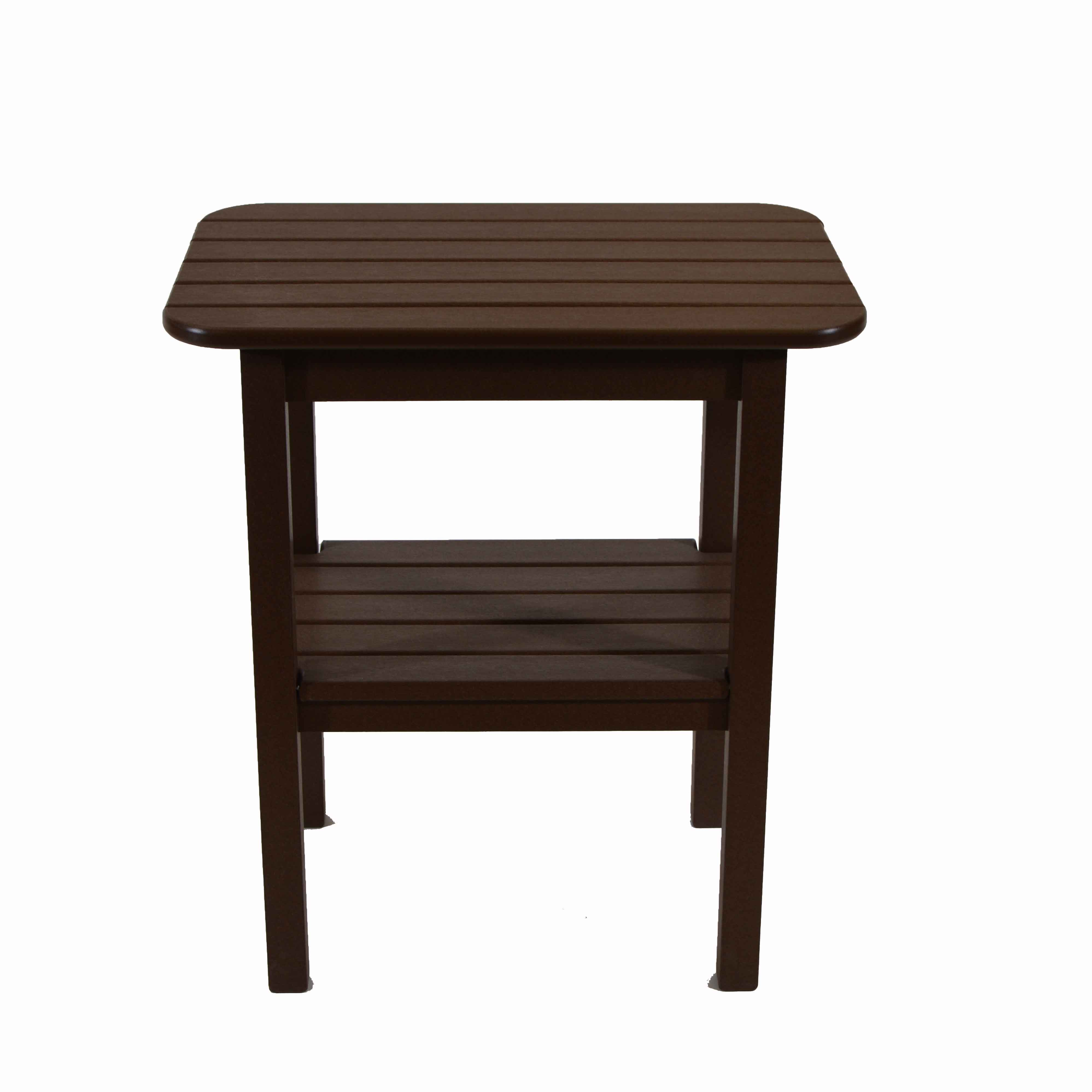 seaside casual westerly balcony end table chestnut outdoor accent ikea kids room storage inch square tablecloth keter beer cooler deep sofa wrought iron wine rack west elm