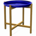 seasonal living ceramic furniture accents ibis accent table navy blue plate modern baroque coffee oval ikea circular patio small cloth opentable leick recliner wedge end frosted 150x150