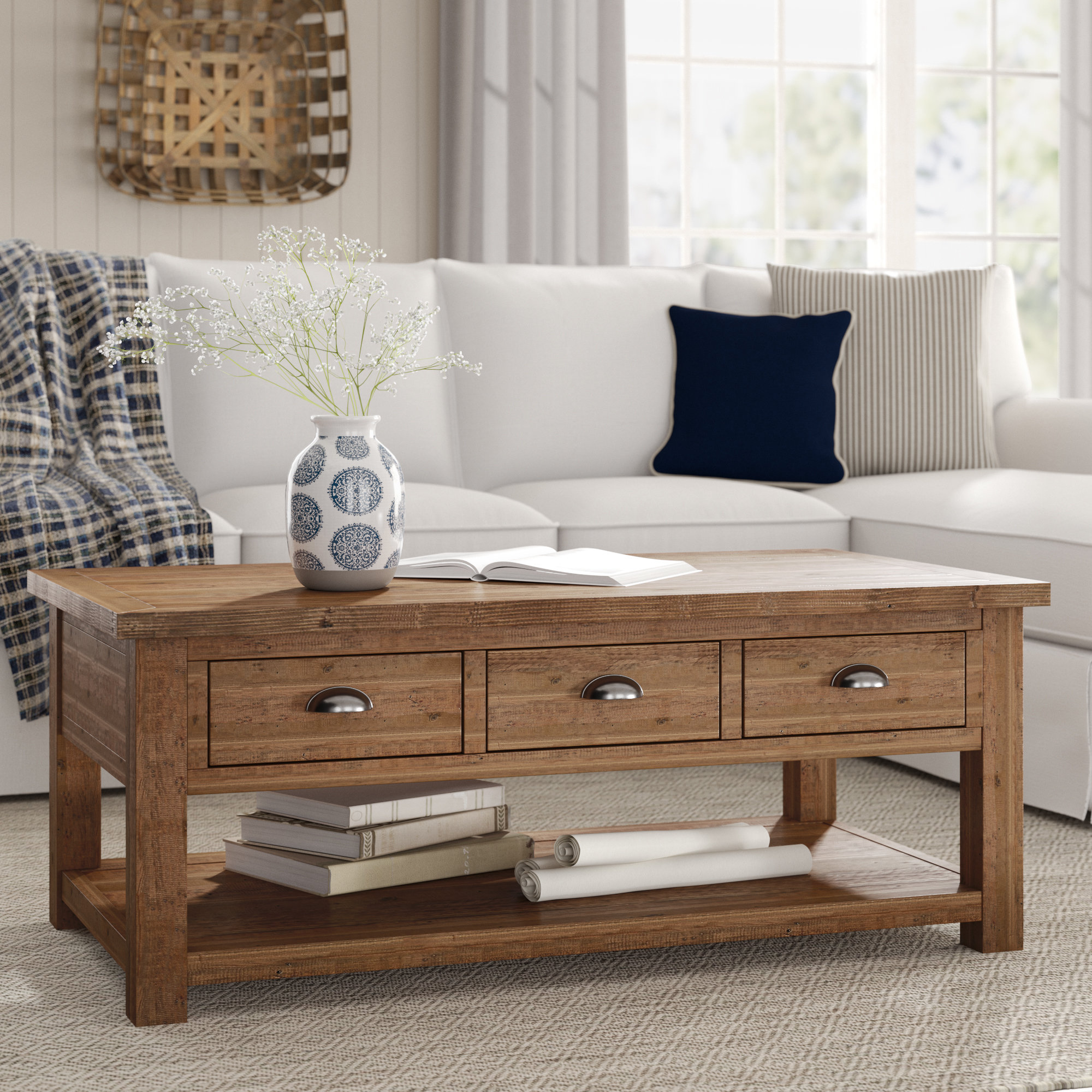 seneca coffee table with storage room essentials accent assembly instructions birch lane heritage reviews gold shelves power management dining set bench frame home decor