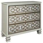 senzernell gold silver finish accent cabinet goldsilver console table trestle dining room metal end base ikea childrens furniture storage circular patio cover retro couch square 150x150