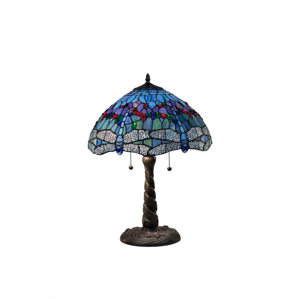 serena italia tiffany blue dragonfly bronze table lamp copper lamps uplight accent acrylic cube side outdoor timber farm dining with bench chairs for living room best end tables