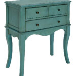 serendipity teal three drawer accent table zulily main all gone garden drinks cooler entryway cabinet with doors west elm white desk round nesting tables long mirror small glass 150x150