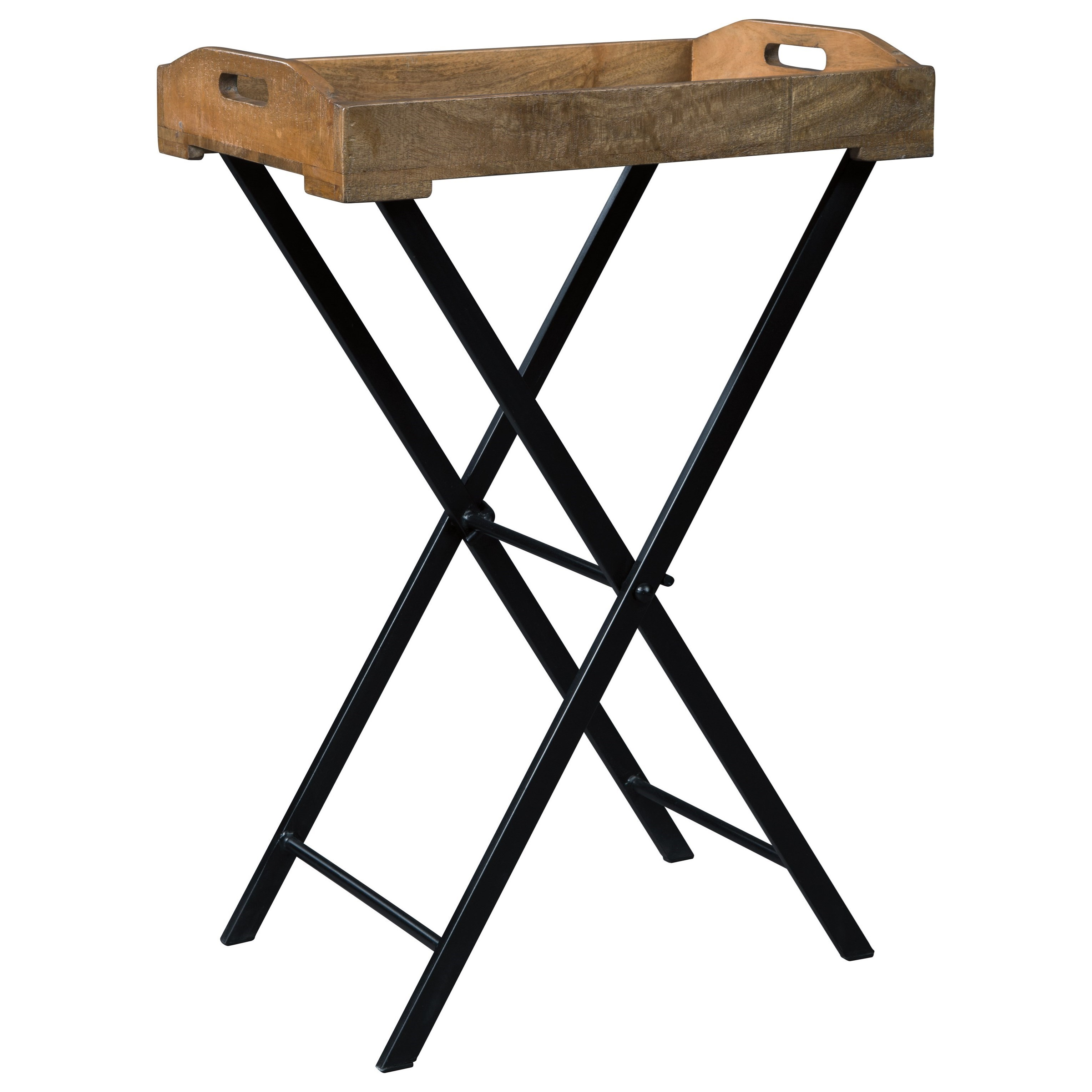 serving tray accent table signature design ashley wolf and products color cadocridge metal outdoor dining with umbrella plastic folding tables pier coupon code storage trunk