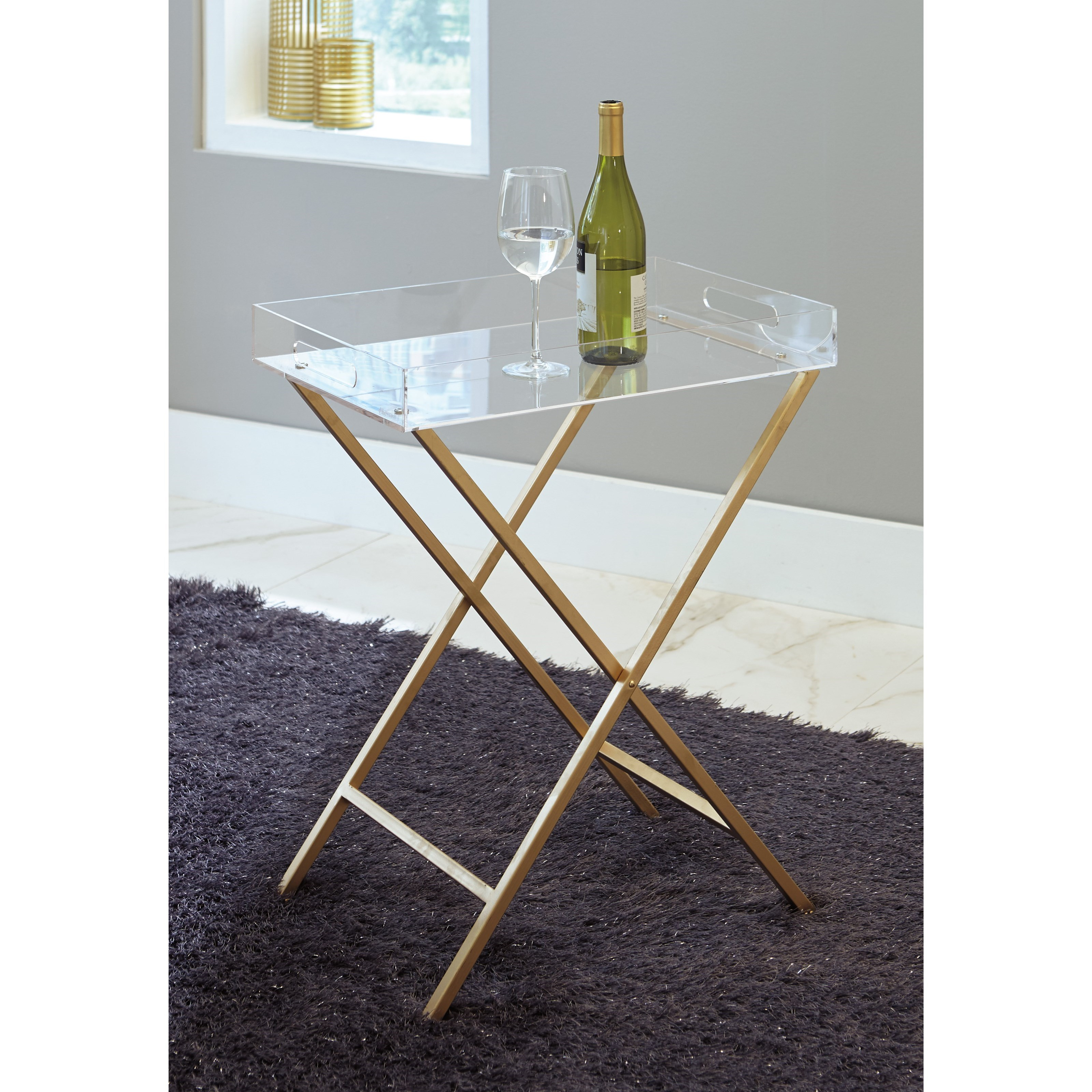 serving tray accent table signature design ashley wolf and products color ervinville metal small modern side round covers bedside with drawer pier coupon code end lamp attached