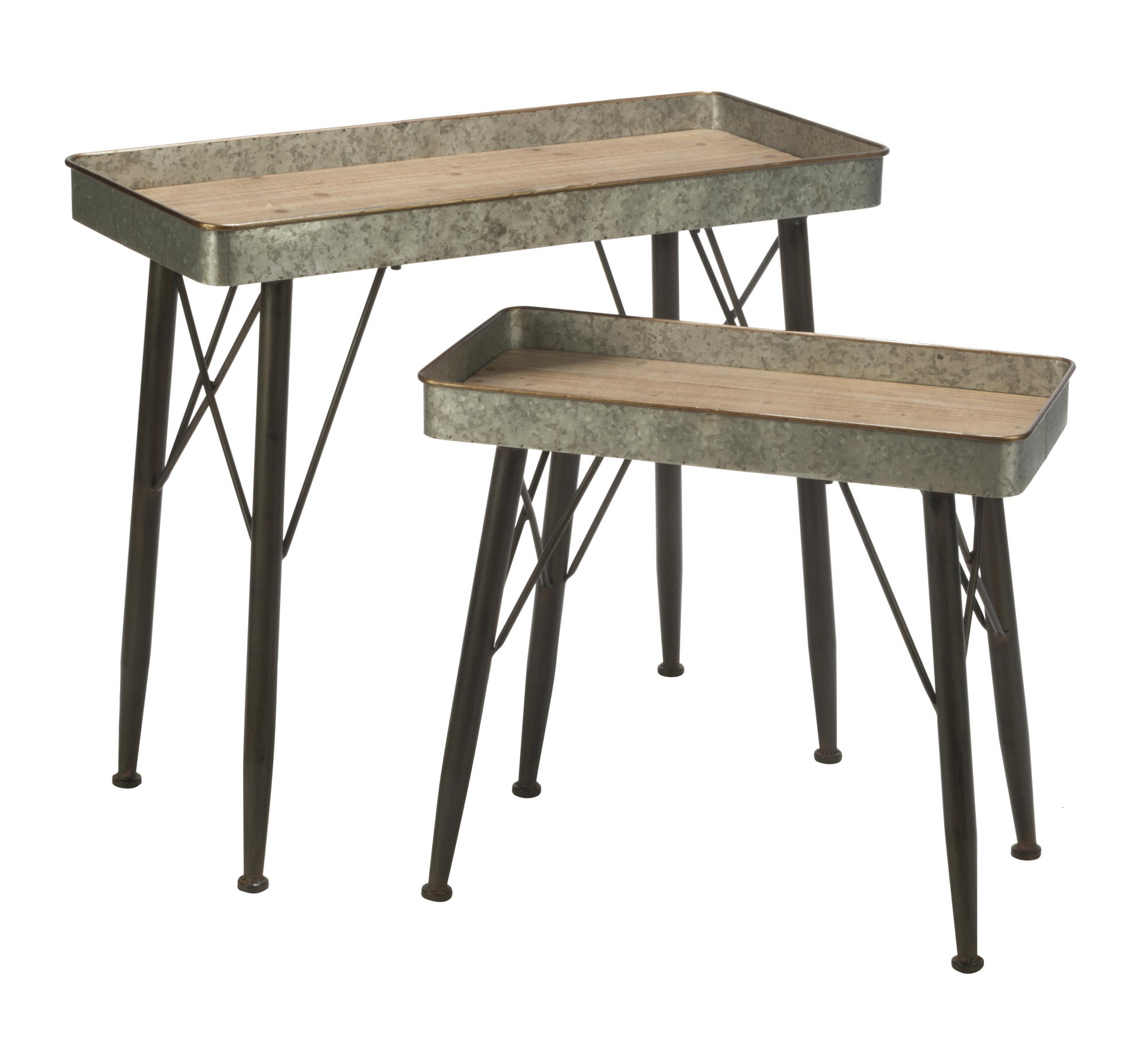 set farmhouse accent tables tripar international inc table teen desk tall side with storage inch deep console small red end dining plate mat thin corner distressed narrow acrylic