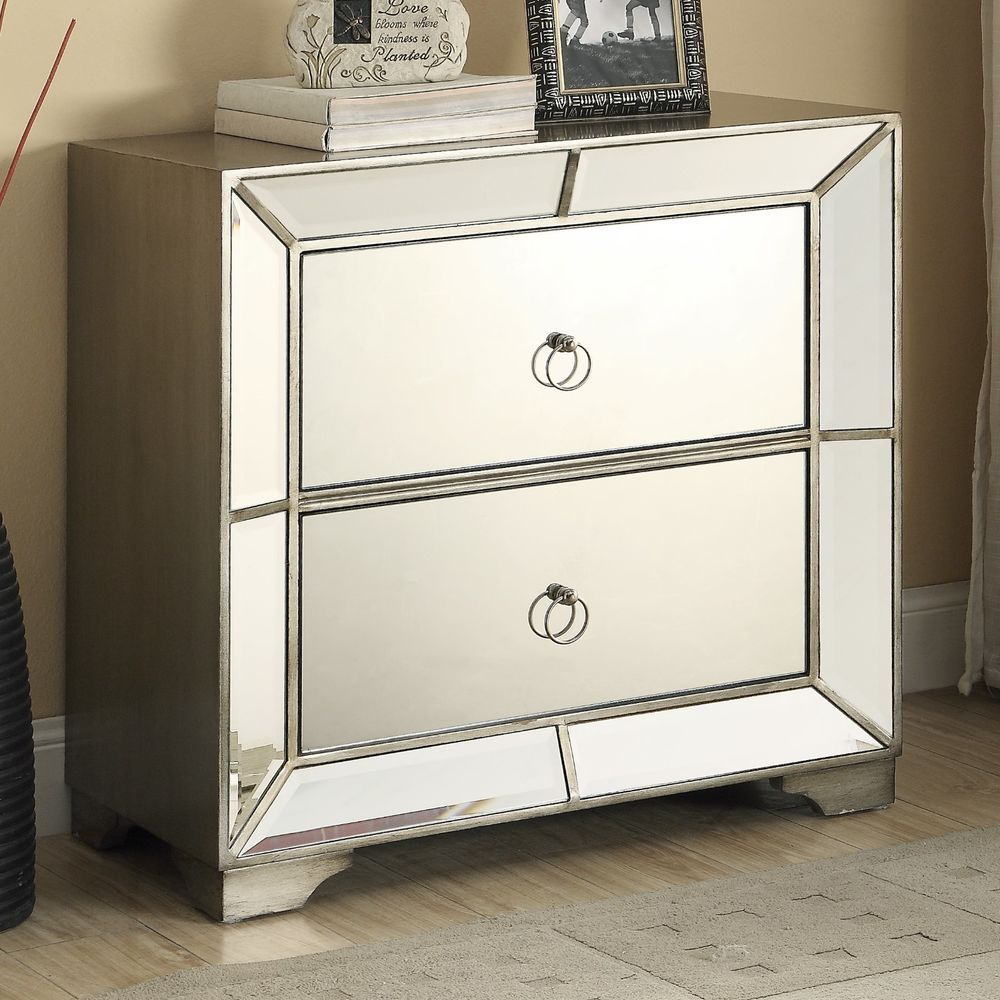 set glam mirrored furniture bedroom chest nightstands hollywood accent table regency tables bombay hollywoodregency brass and marble side short narrow end country decorating ideas