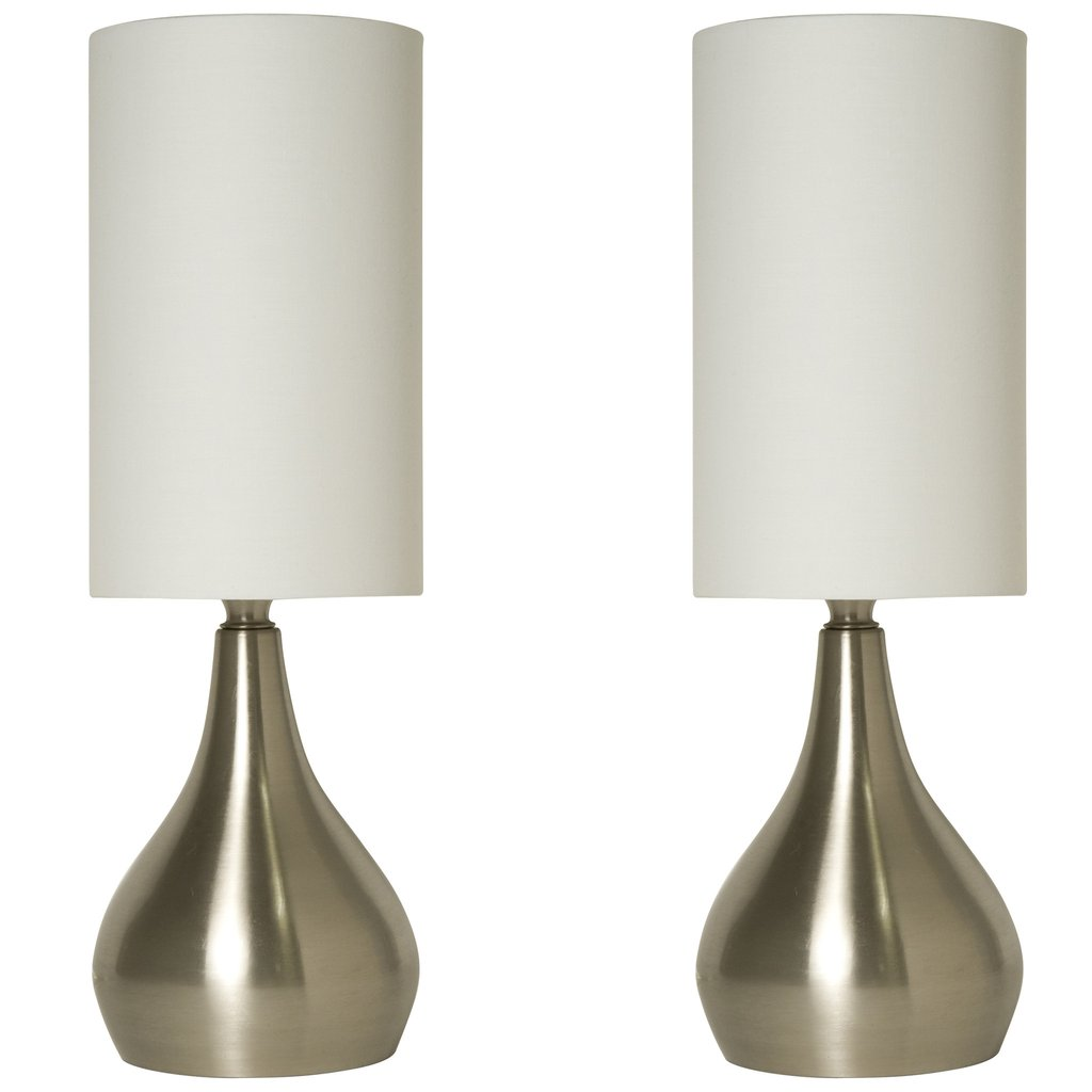 set modern touch table lamps inches tall with way dimmer accent switch feature bronze for living room old wooden nautical dining chairs inch tablecloth stone top coffee bar