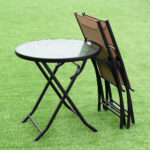 set table depot chairs garden home woodside folding chair dining wooden childrens target and canadian camping furniture card piece mosaic tire wood outdoor scalloped accent full 150x150
