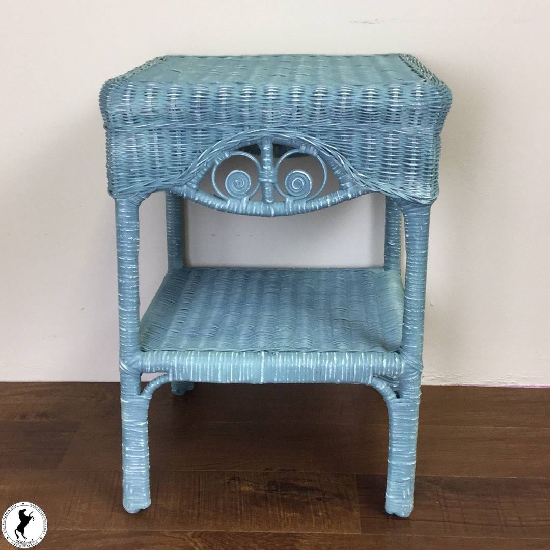 shabby beach blue accent table for wildwood antique malls mirrored console square patio furniture covers espresso wood end tables whangarei umbrella stand uma side baby changing