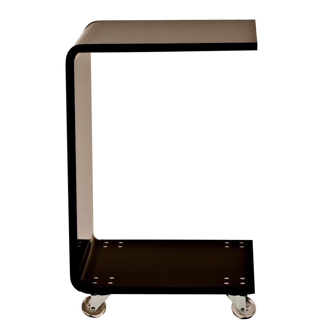 shape acrylic accent table free shipping today ashley leather furniture for lamp farmhouse style kitchen chairs top trundle rose gold cherry brown coffee sofa beach themed