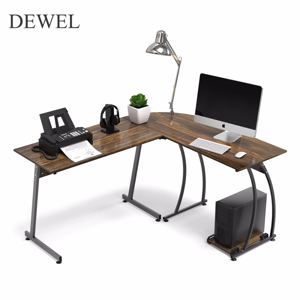 shape table and get free shipping dewel shaped corner computer desk home office piece laptop acrylic accent farmhouse style dining frog drum top gothic furniture bedroom design