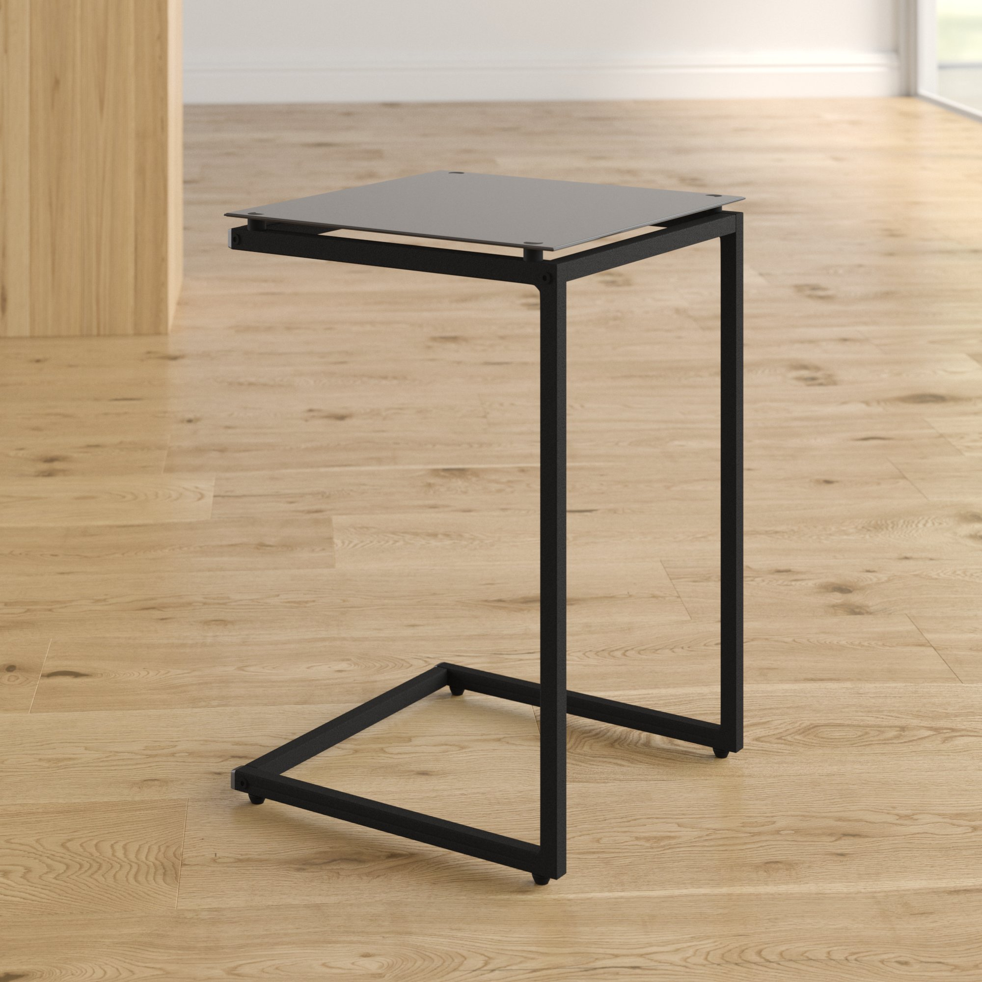 shaped side table bonetti end storage accent black room essentials and white lamp diy barndoor tro lamps mouse wired furniture toronto breakfast with stools home goods curtains