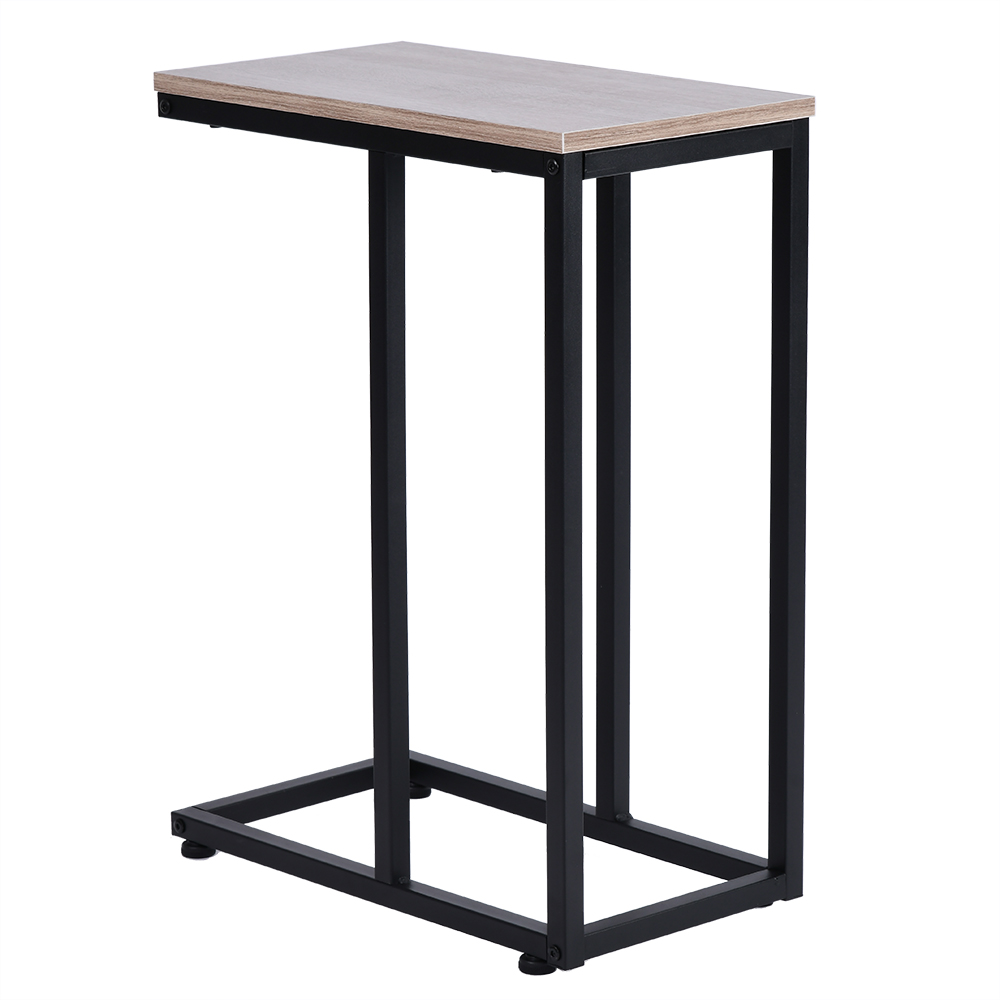 shaped small narrow end side chairside table slim snack accent tables laptop round pedestal bedside modern telephone hollywood mirror cabinet tablecloth for square live edge blue