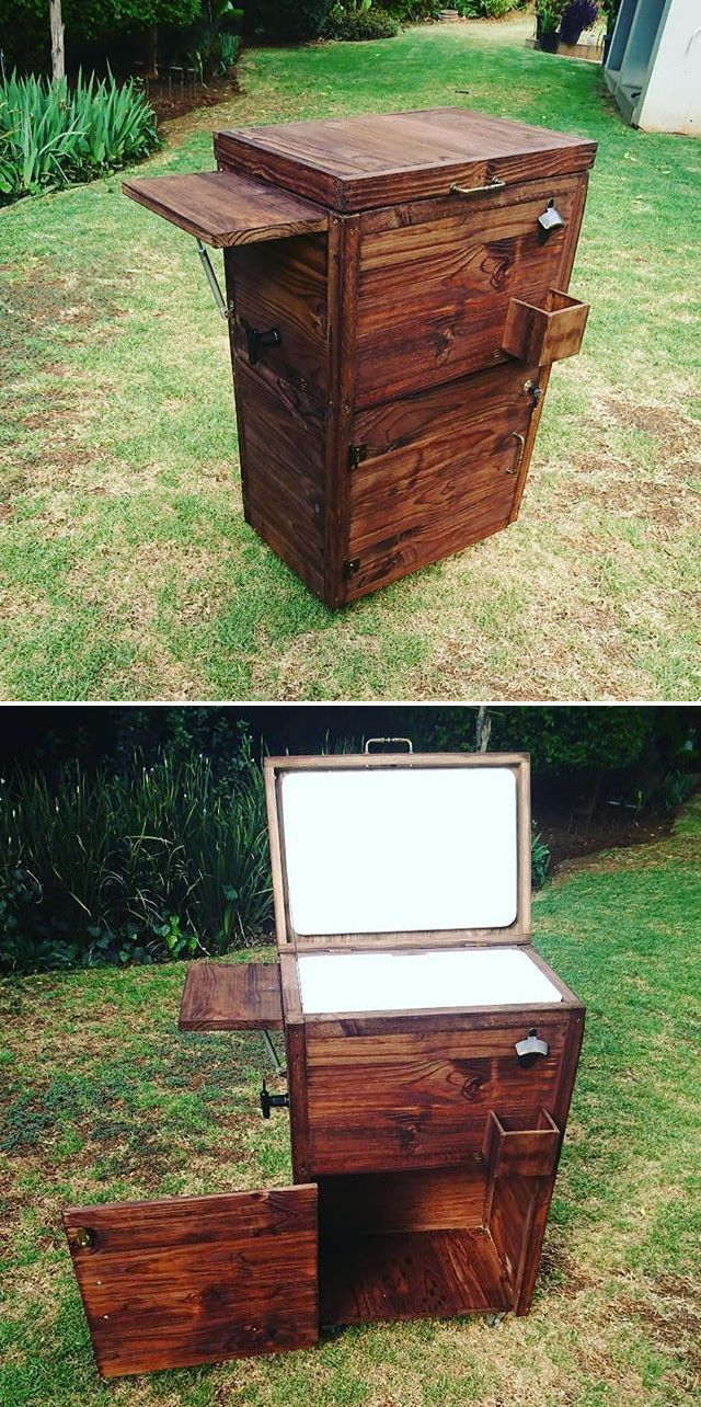 sharp wood pallet side table ideas sensod create connect outdoor cooler pottery barn round glass coffee storage ott target retro lounge furniture hampton bay pembrey distressed