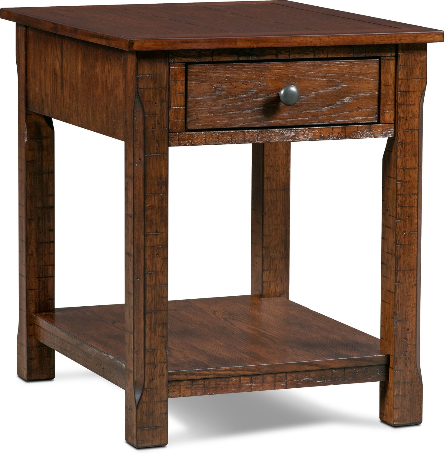 sheffield rectangular end table walnut value city furniture and small accent click change wood iron coffee sets nic umbrella side wooden cabinet hampton bay lounge chair pretty