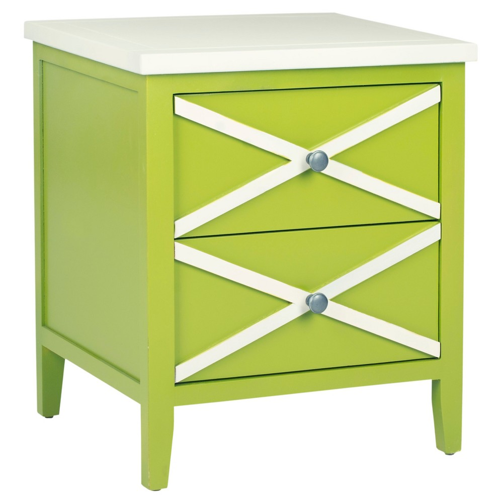sherrilyn side table with drawers lime green safavieh products accent mirrored occasional brown metal coffee mahogany lucite nesting tables small outdoor patio whalen furniture