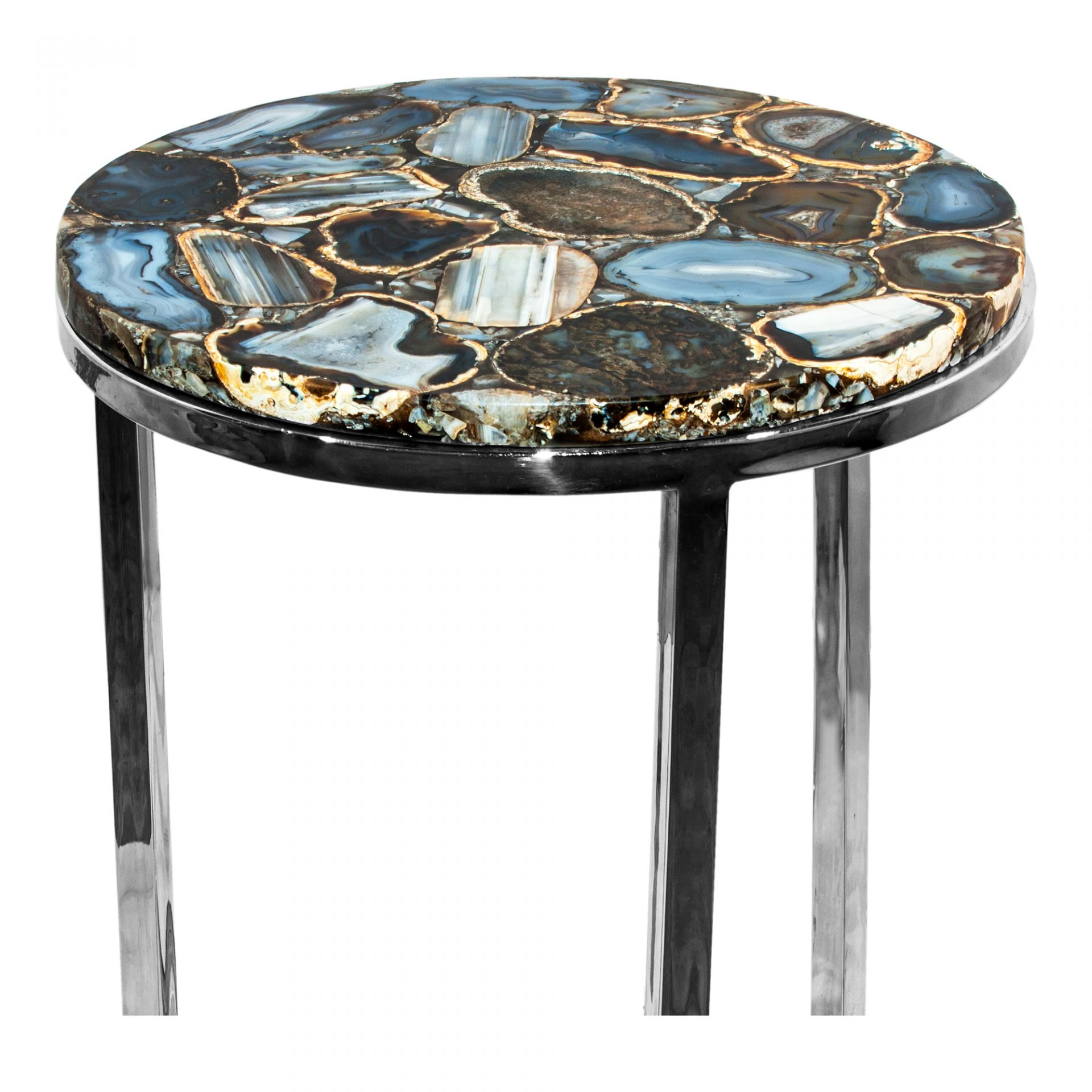shimmer agate accent table products moe whole tables with built side magnussen allure end white decorative storage cabinet expandable furniture gold drum coffee top designs glass