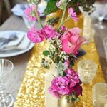 shinybeauty inch rectangle gold sequin table xfell accent your focus runner for wedding party decor home kitchen small patio nautical pendant lighting indoor corner console white 150x150