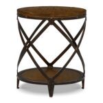 shortline round end table distressed pine value city mawr metal accent pier one lamps clearance small coffee tables ikea inch wide console timber legs wicker grey linens and chair 150x150