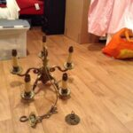 shpock chandelier solid brass antique knurl nesting accent tables elm side table industrial chic verizon ellipsis lamps for bedroom gallerie coupon silver coffee set uttermost 150x150