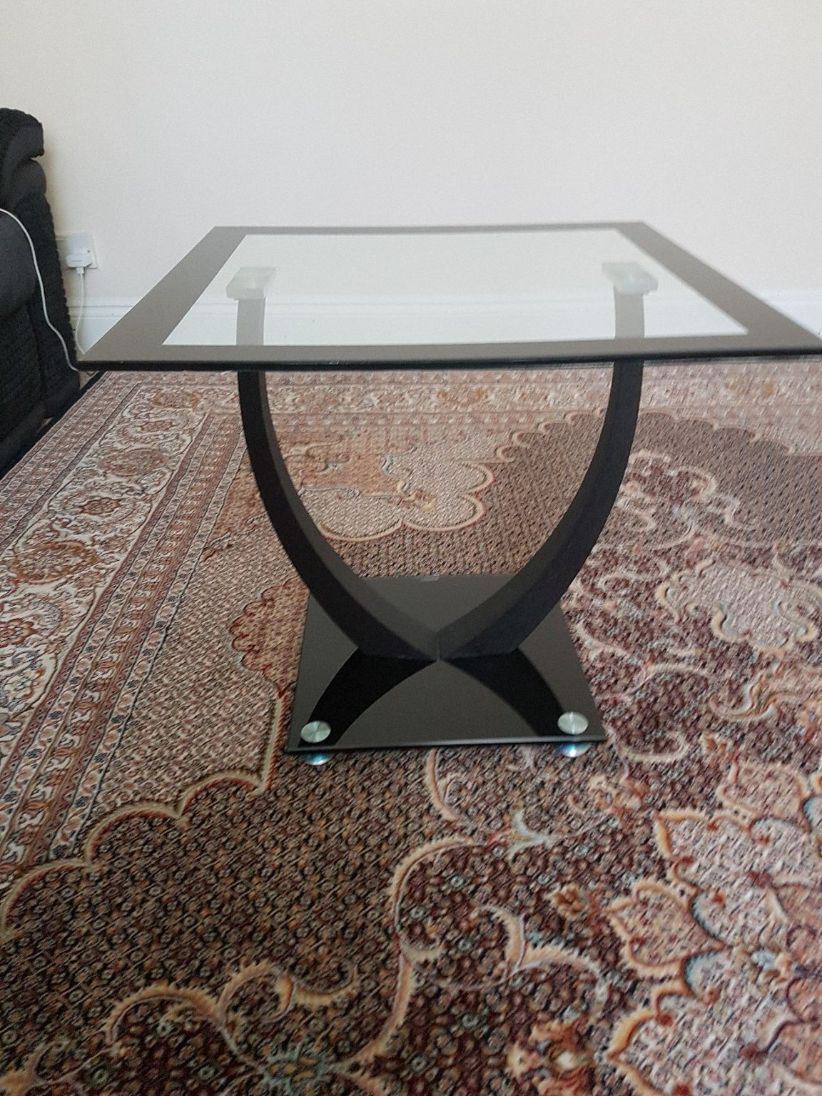 shpock small coffee table size chawston oval accent kitchen dining furniture dog bath tub glass top shallow cabinet target threshold mirror little lamps silver lampshade modern