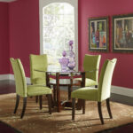 side accent chairs the outrageous amazing round dining room table decor interior paint color with window treatments and parsons also area rug interesting design inexpensive small 150x150
