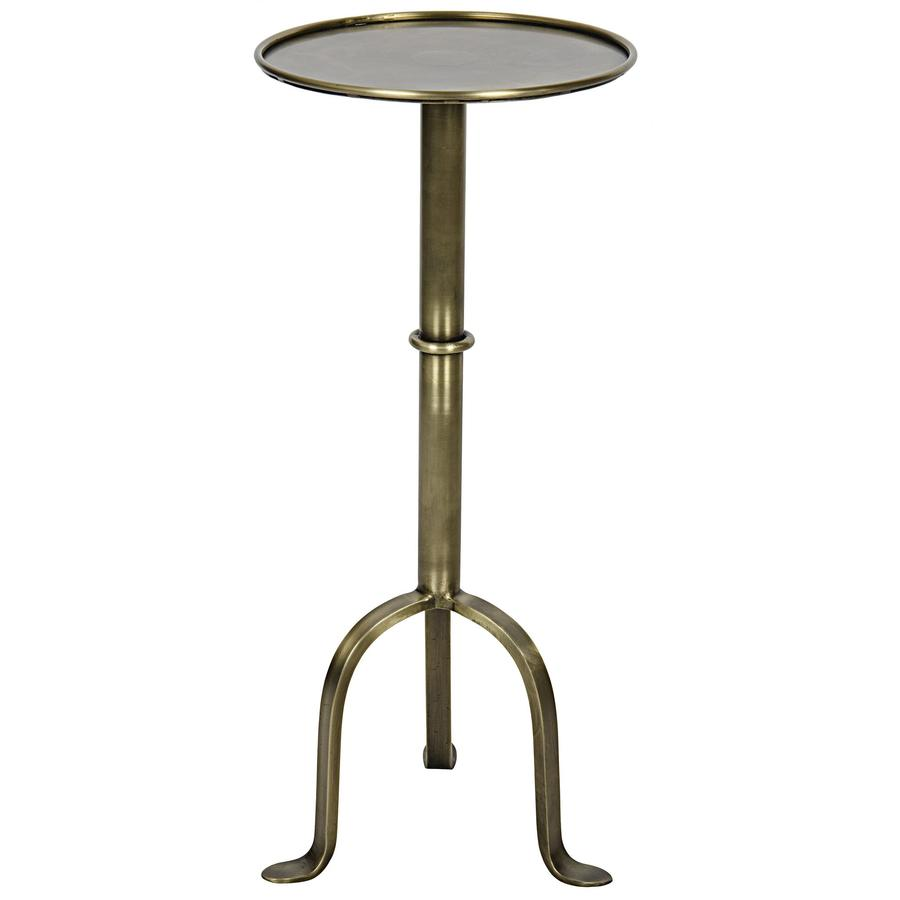 side end accent tables bliss home design boir tini table antique brass round small metal with rimmed top tripod base cabriole legs and black drawers drop leaf coffee living room