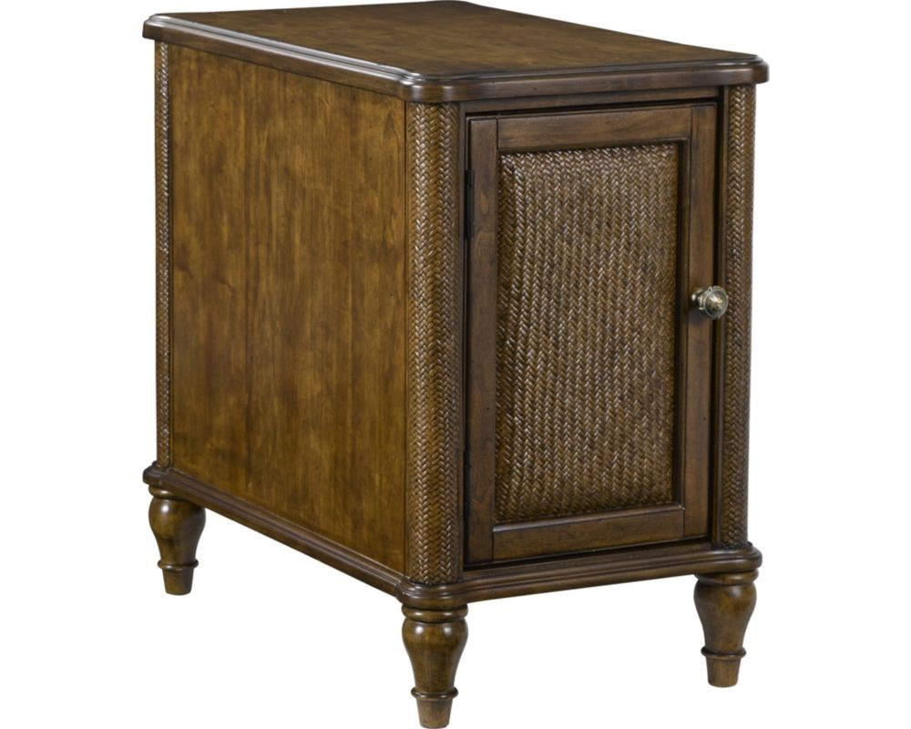 side end tables accent broyhill furniture antique blue table bay chairside copper hairpin legs pottery barn bedside round wood kitchen the living room for modern elm pier wire