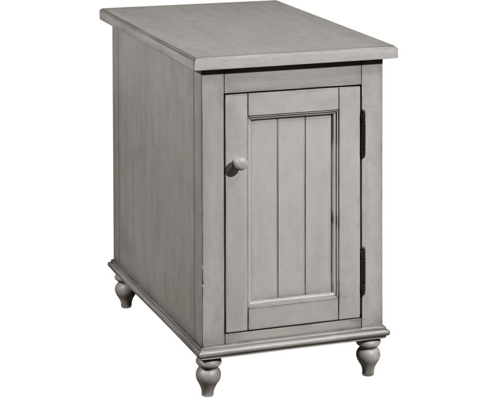 side end tables accent broyhill furniture weathered gray table kearsley reclinermate glass console with drawers long narrow desk pottery barn trunk small perspex secretary ashley