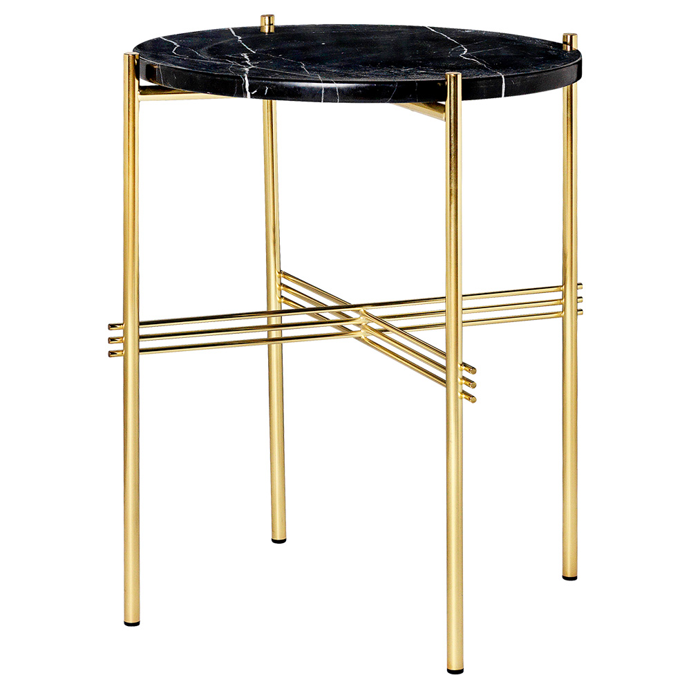side table black marble brass rouse home outdoor accent coffee woodworking plans round patio with umbrella hole kitchen hardware pulls threshold windham one door storage cabinet