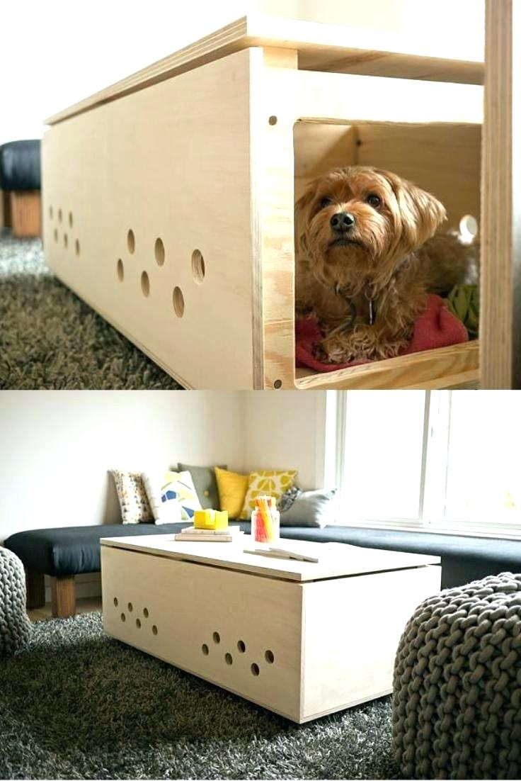 side table dog night tables beds made out end modern pet crate coffee hound large size collection diy runner and placemats chrome glass accent low mirrored bassett leather